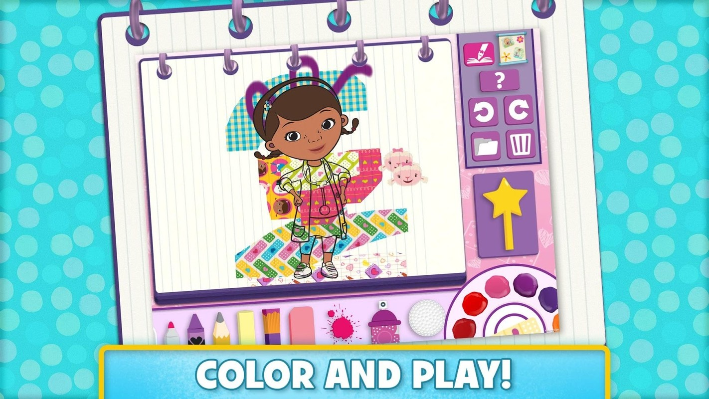 Disney Color And Play