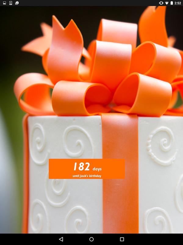 Birthday countdown widget apk free android app download appraw - Birthday countdown wallpaper ...