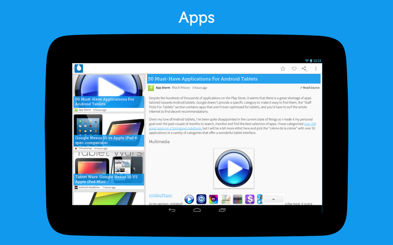 list of all free android applications