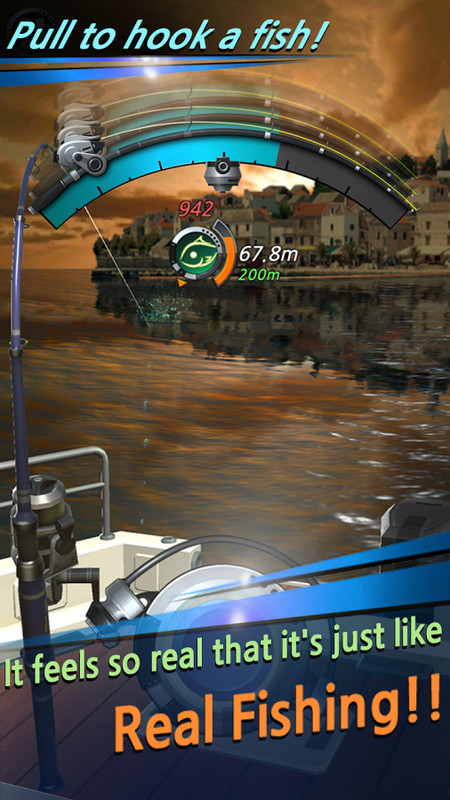 Fishing hook apk free sports android game download appraw for Fishing game android