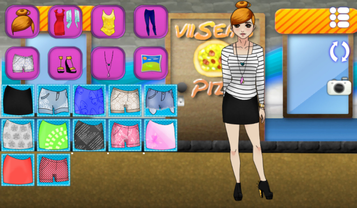 Home free android games dress up princess girl fashion android game