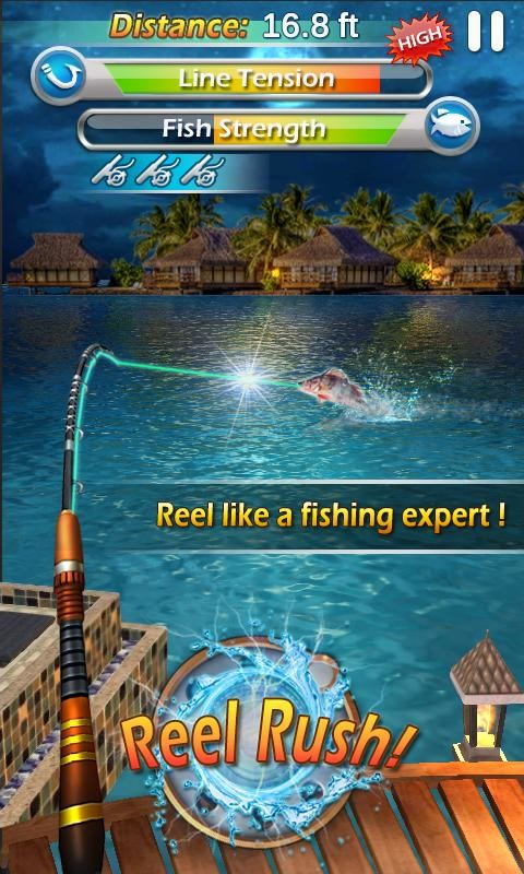 Fishing mania 3d apk free sports android game download for Fish mania game