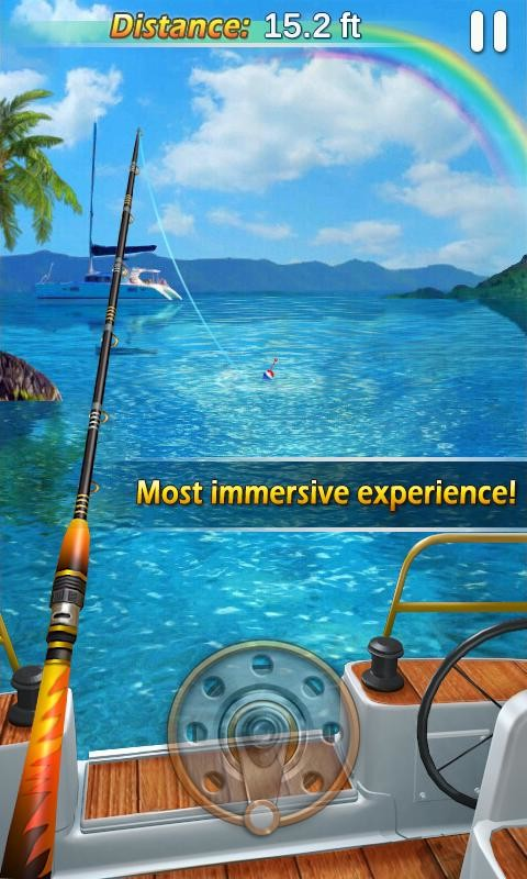 Fishing mania 3d apk free sports android game download for Fishing game android