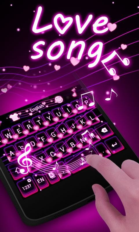 love song go keyboard theme free android keyboard download appraw