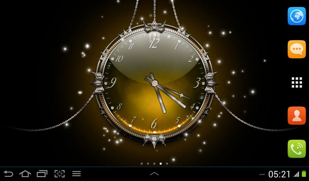 Analog Clock Live Wallpaper Free Android Live Wallpaper ...