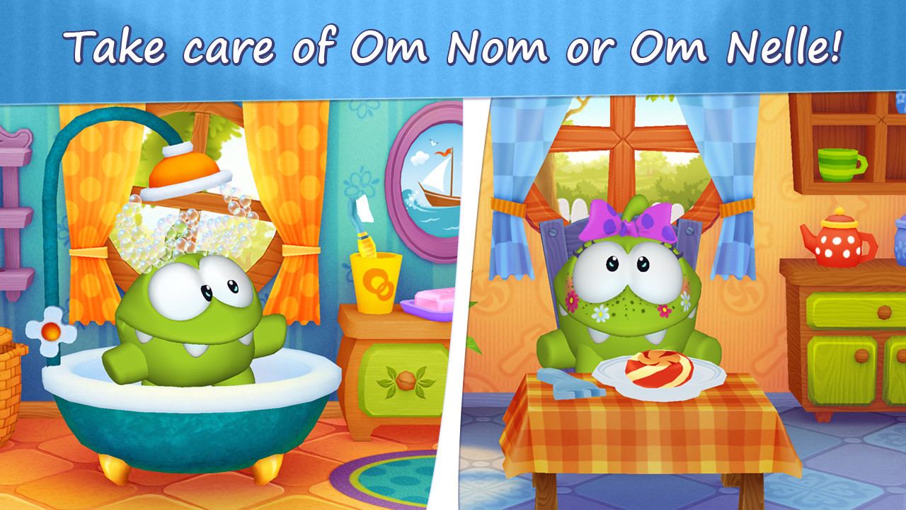 My Om Nom APK Free Simulation Android Game download - Appraw