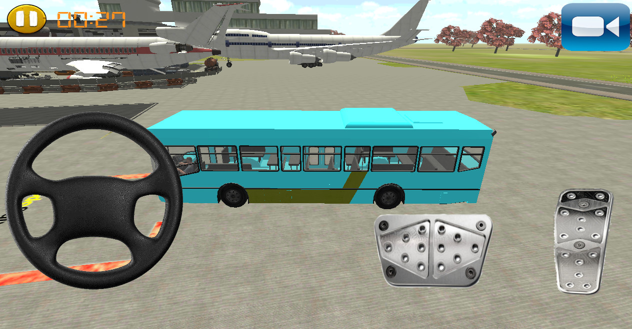 bus parking 3d free
