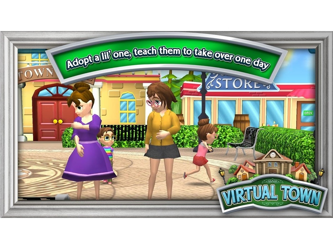 Virtual town apk free casual android game download appraw