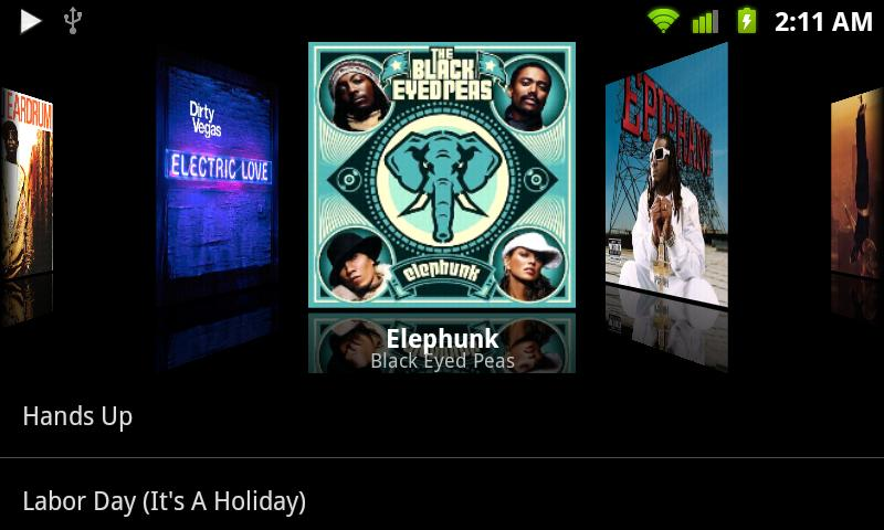 how to download music with album art on android