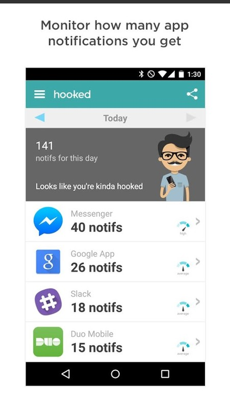 Hooked - App Habit Tracker APK Free Android App download - Appraw