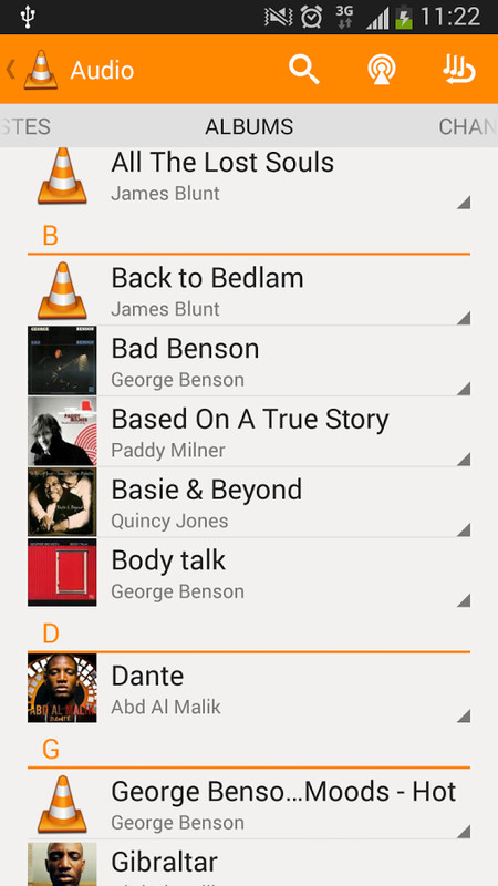 how to play rar file with vlc on android phone