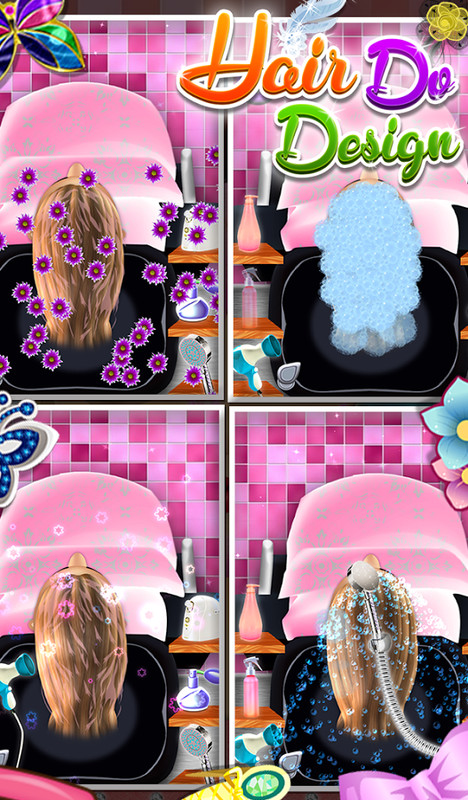 hair design games hair do design girls game apk free