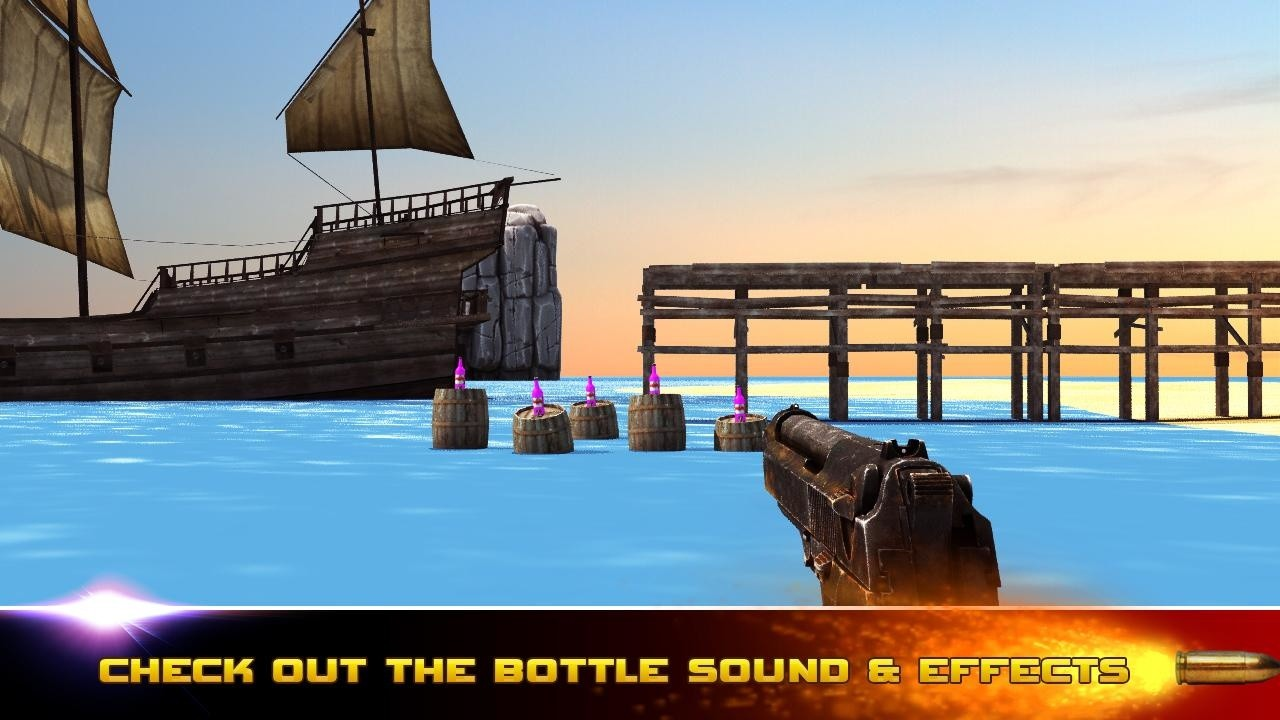bottle shoot 3d game expert apk download