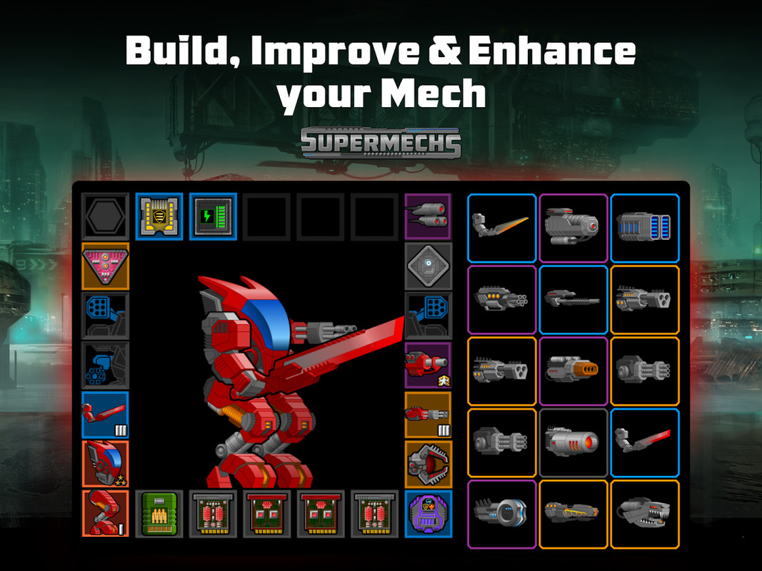 Super Mechs APK Free Action Android Game download