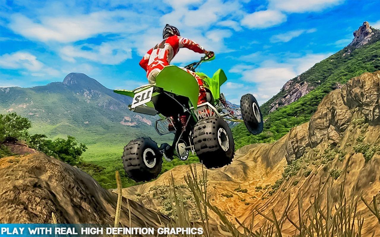 extreme stunt quad bike racing apk free simulation android