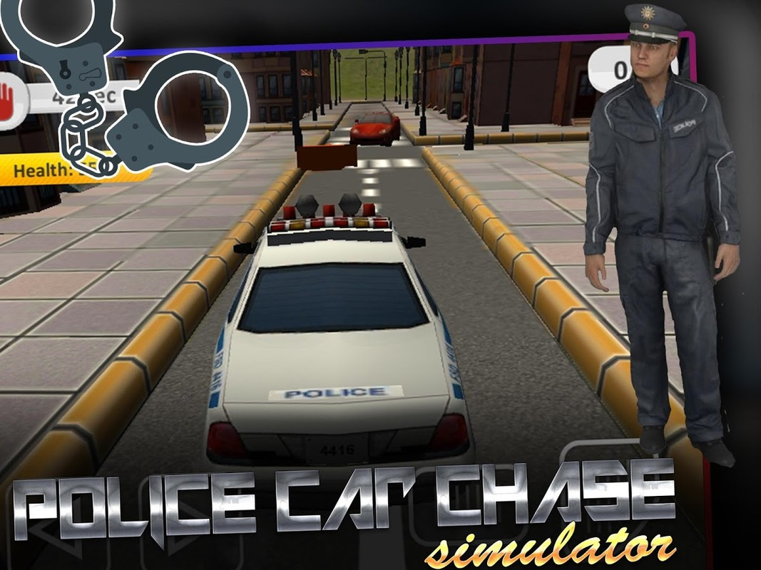Police car chase simulator 3d apk free simulation android for Simulatore 3d