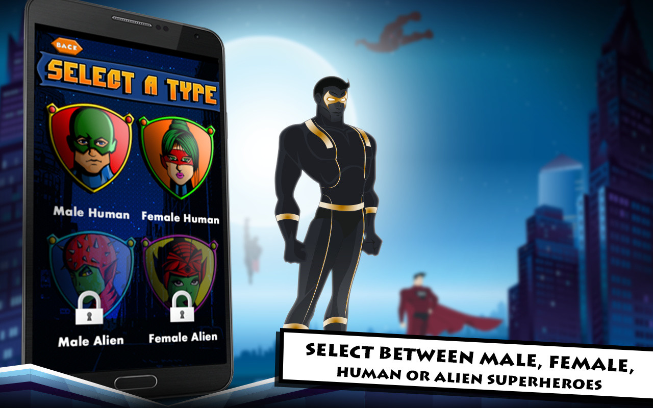 superhero maker apk free role playing android game download