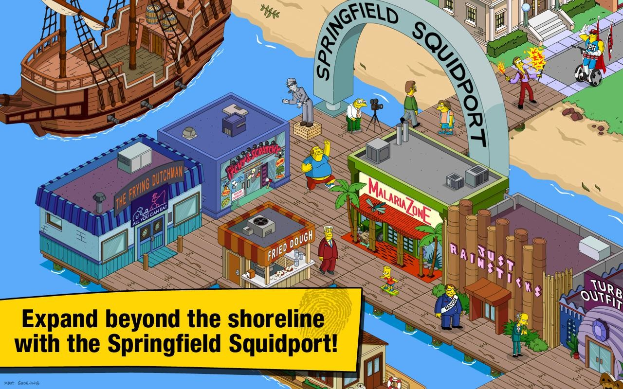 Simpsons tapped out Apk