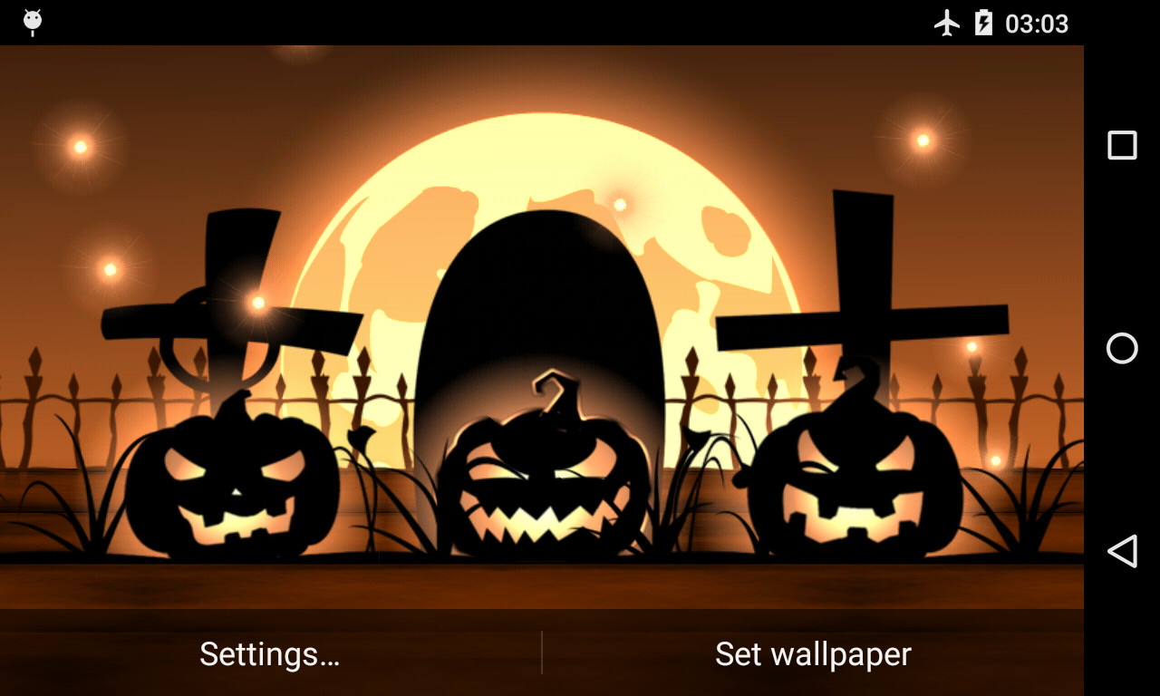 Halloween Live Wallpaper Free Free Android Live Wallpaper