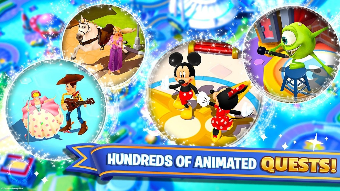 Disney magic kingdoms apk free simulation android game Magic app