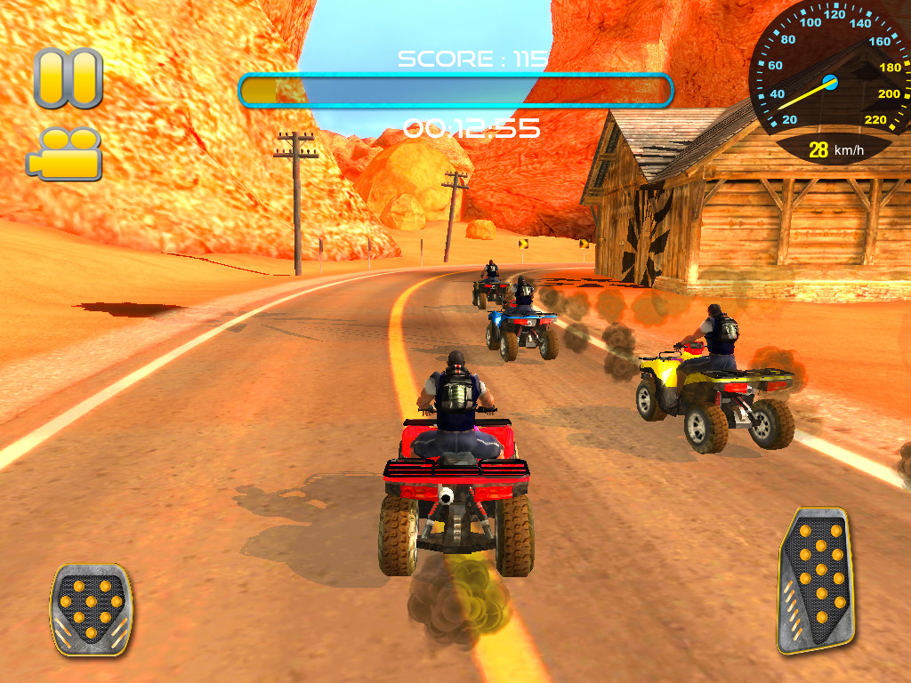 atv quad bike racing mania apk free racing android game