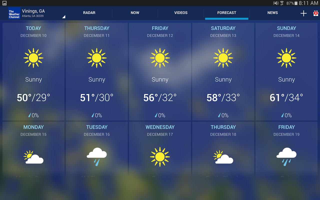 the weather channel apk free weather android app download
