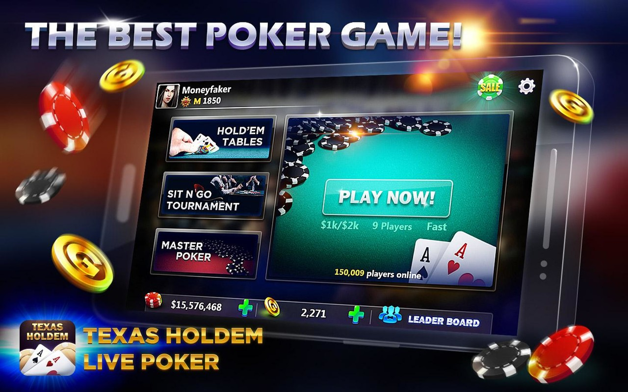 Live Poker - Texas Holdem APK Free Casino Android Game