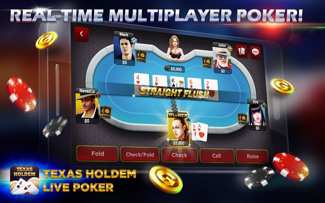 games texas holdem poker android