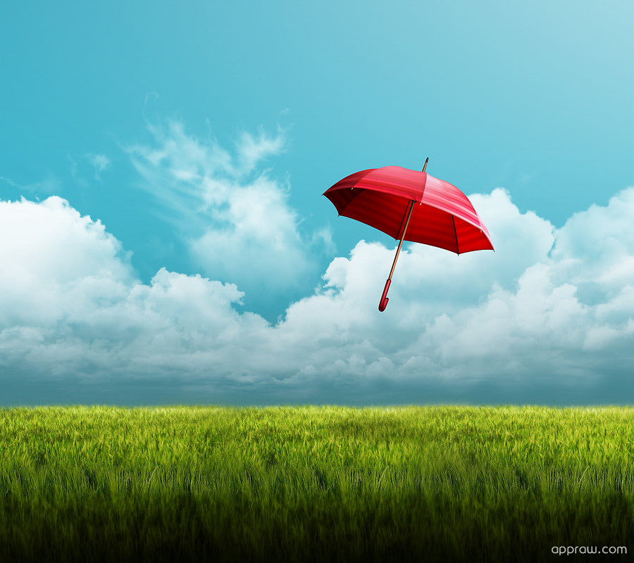 Umbrella LG G2 Wallpaper Download