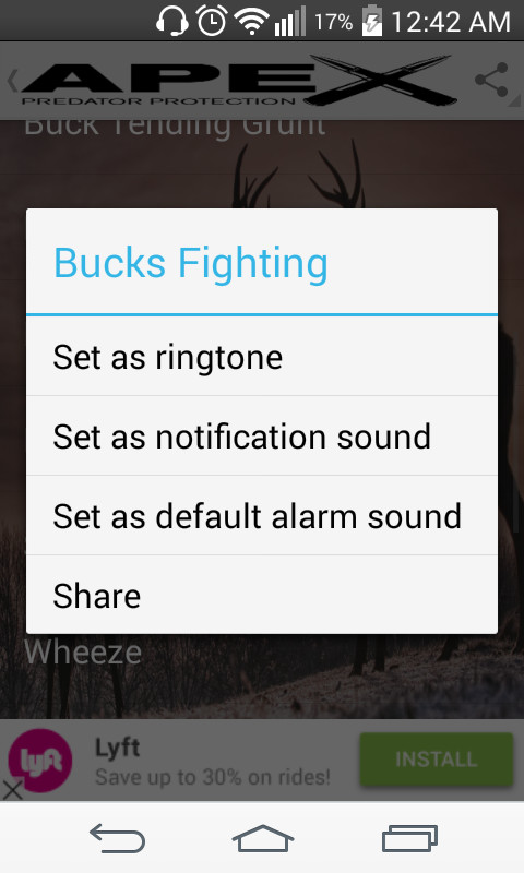 Whitetail Deer Hunting Calls Apk Free Android App Download
