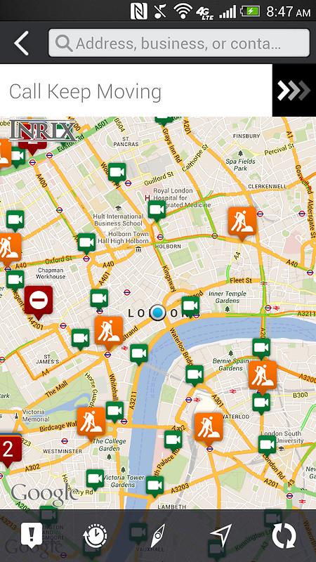 Inrix 174 Xd Traffic Maps Amp Alerts Apk Free Android App
