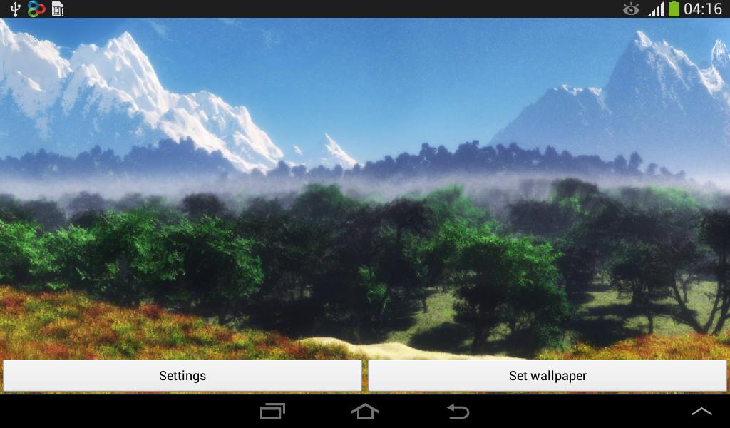 ... HD Live Wallpaper Nature ...