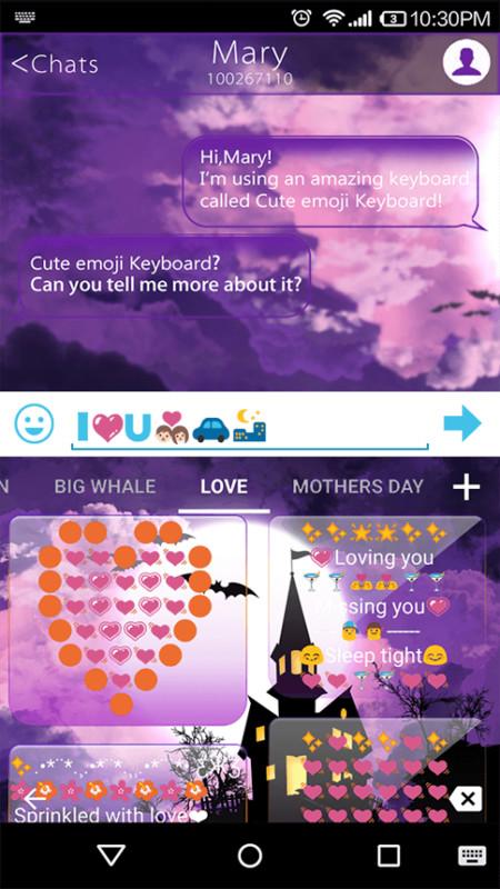 Halloween Emoji Text: Halloween Happy Emoji Keyboard Free Android Keyboard