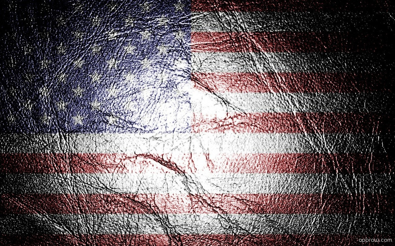 American Flag Texture Wallpaper Download