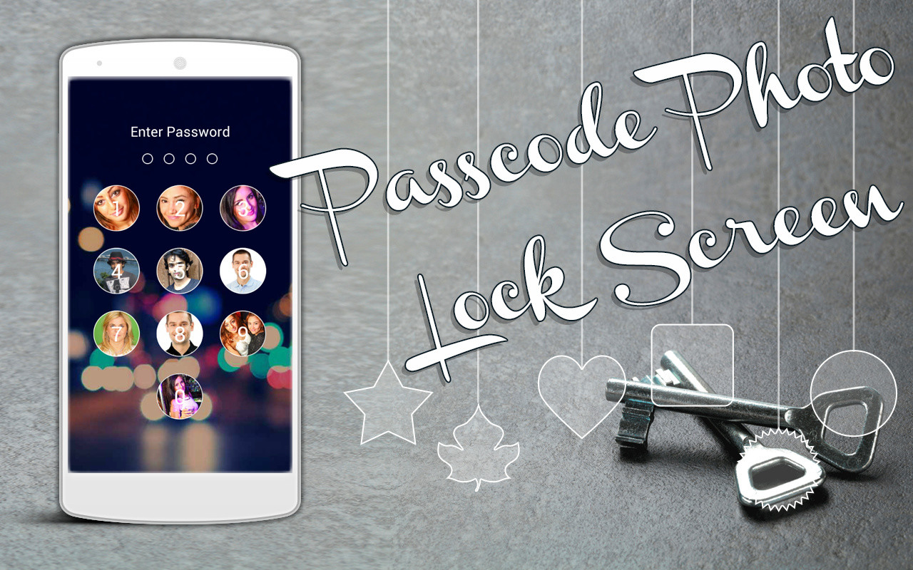 Passcode Photo Lock Screen APK Free Android App Download