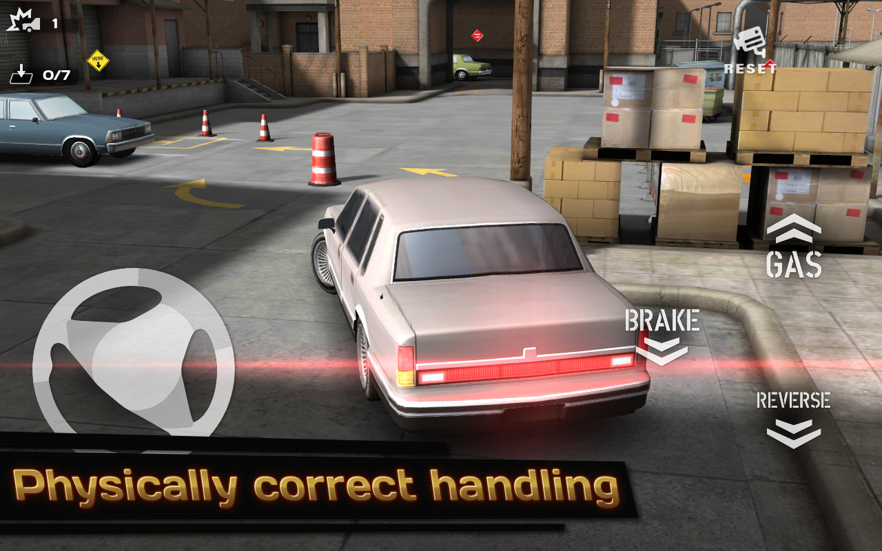 Car Parking Mission Games