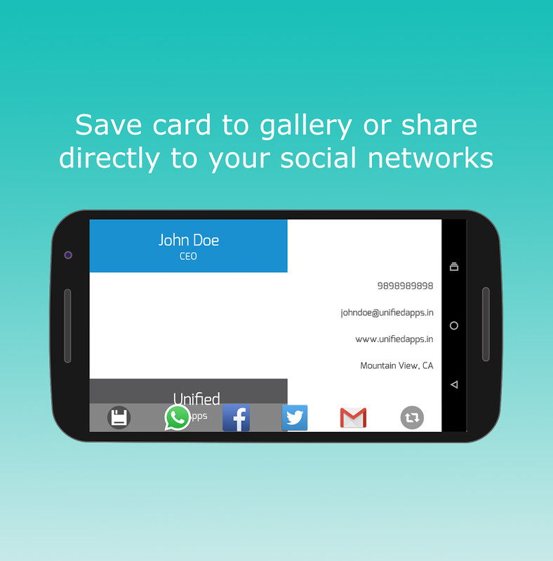 Business Card Maker APK Free Android App download - Appraw