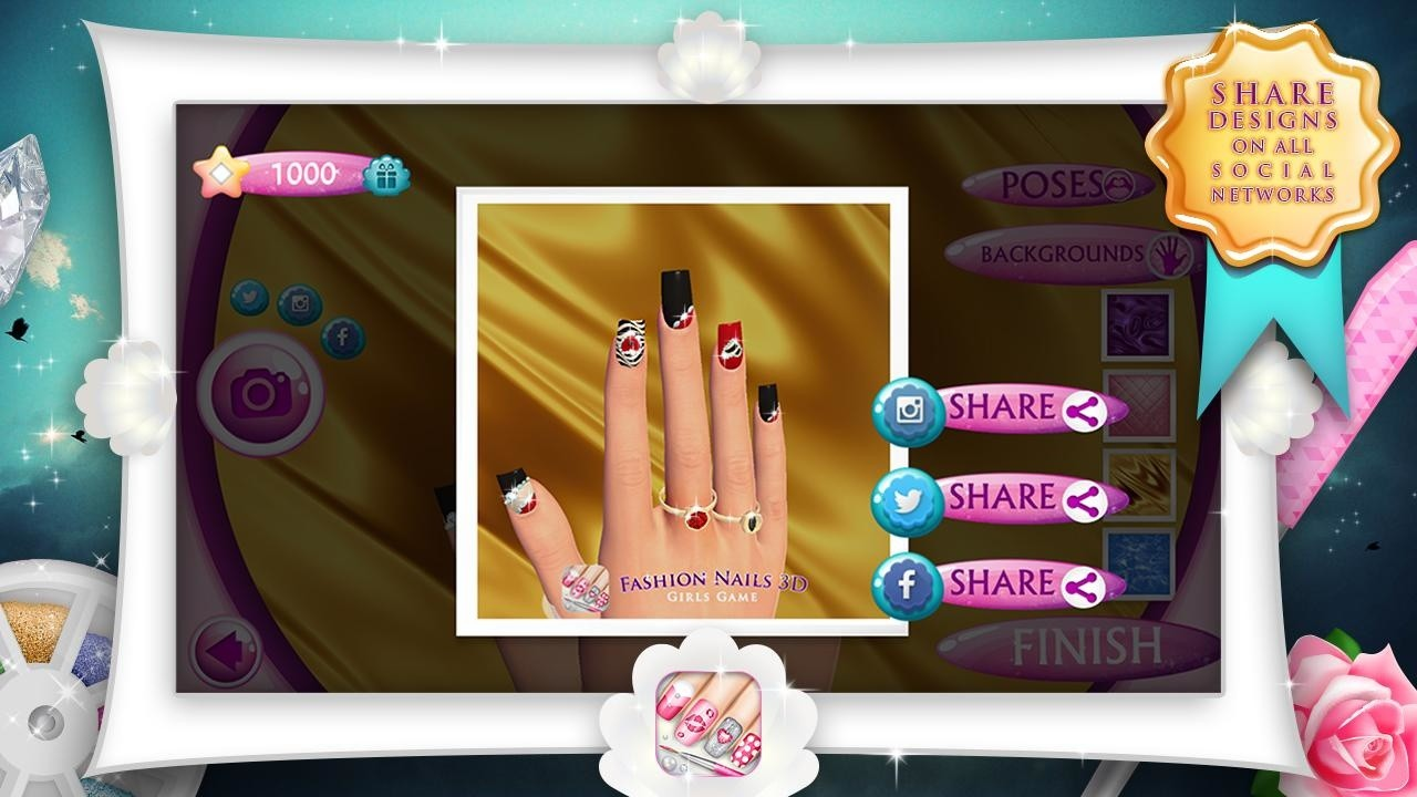 fashion nail salon game download