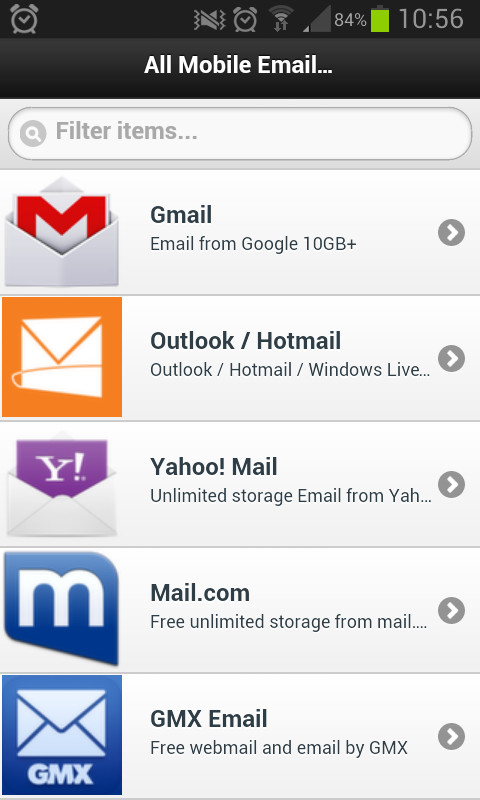 All Email Providers APK Free Android App download - Appraw