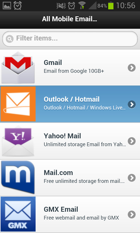 yahoo mail app android download