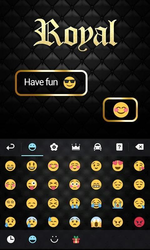download go keyboard cute emoji