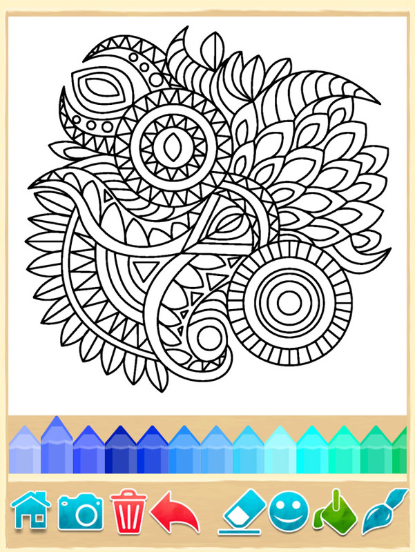 Mandala Coloring Pages APK Free Casual Android Game