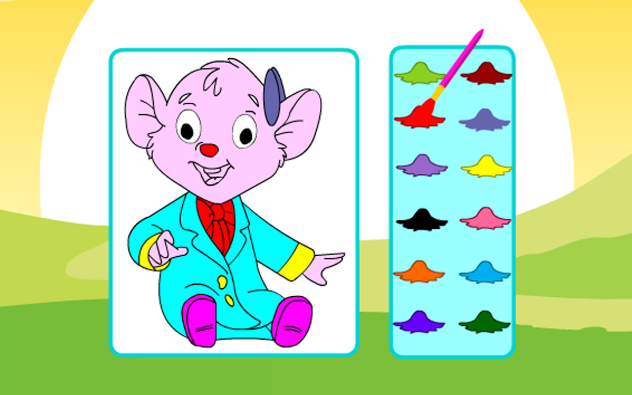Coloring Pretty Cartoon APK Free Casual Android Game ...