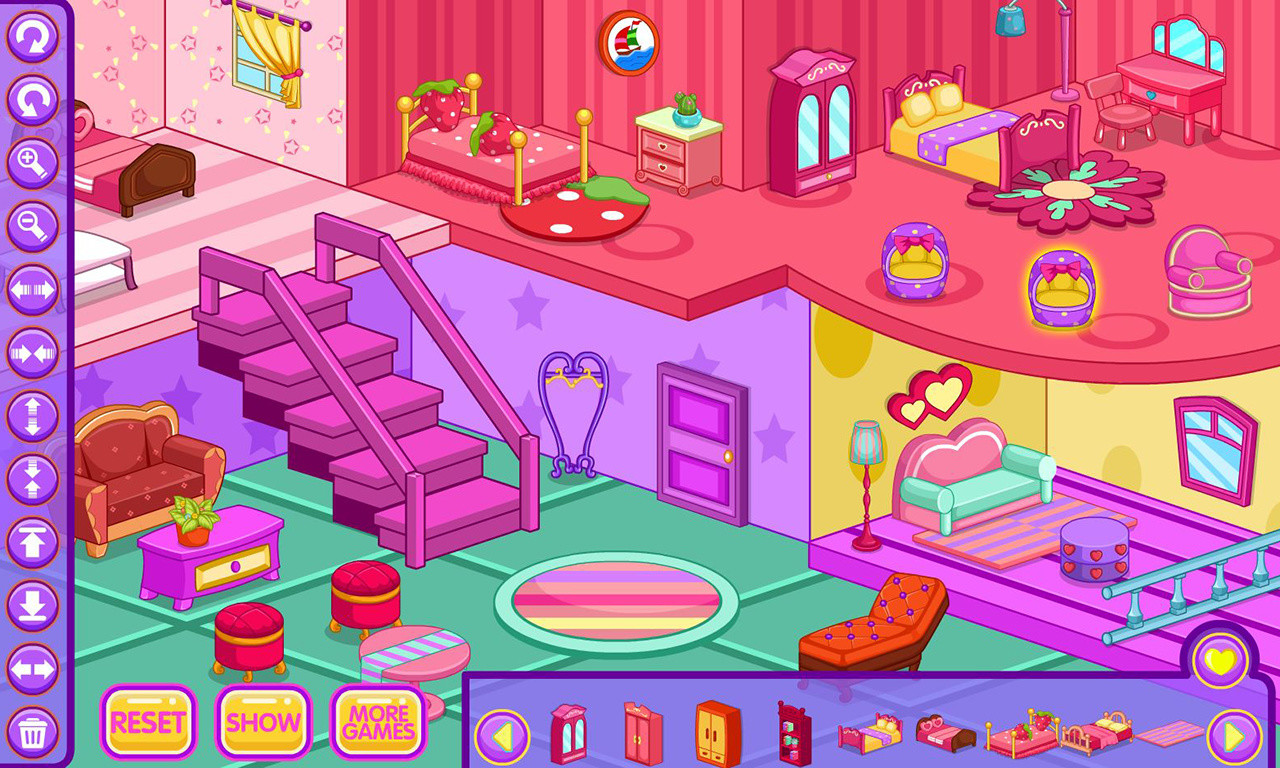 100 Home Decorating Games Online My New Room 2