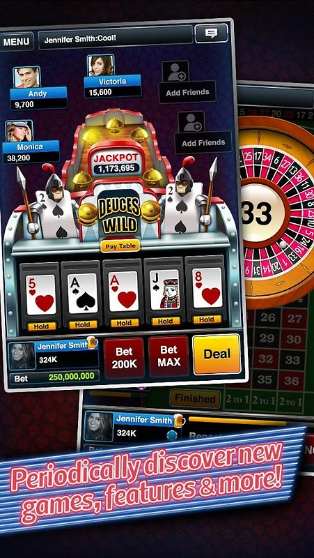 free poker slots download