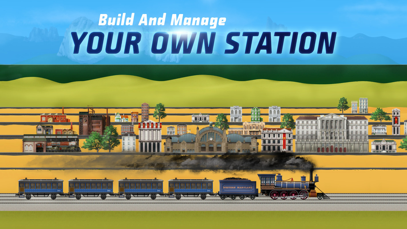 game train station