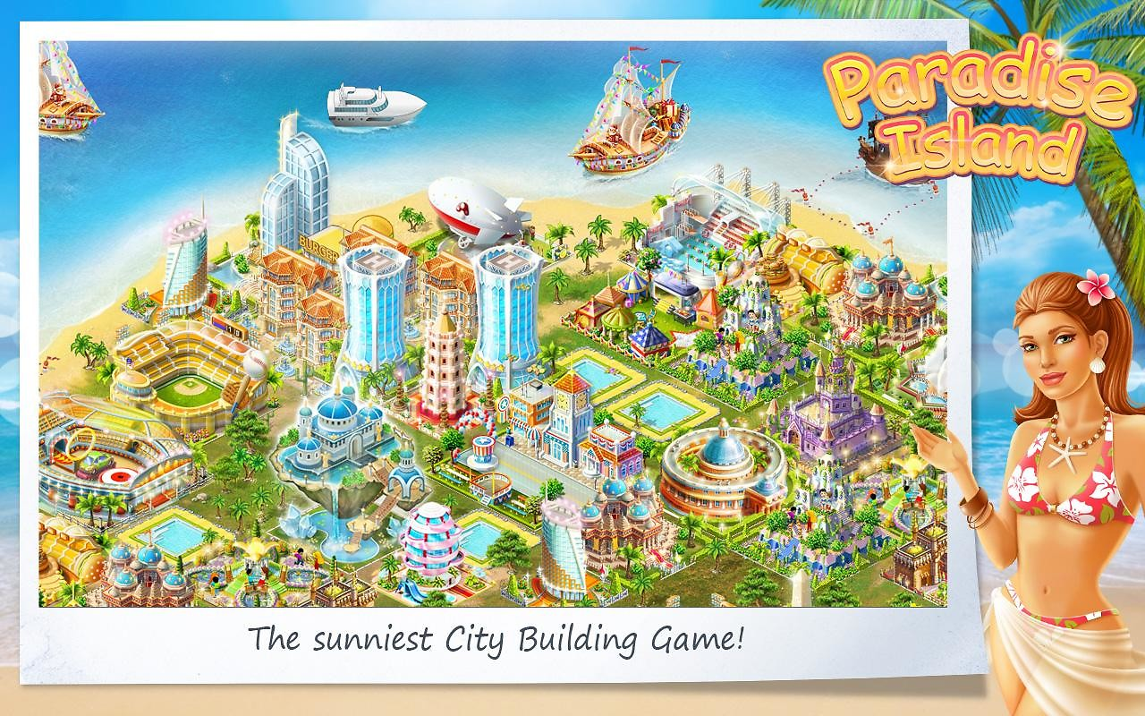 Paradise Island APK Free Simulation Android Game download