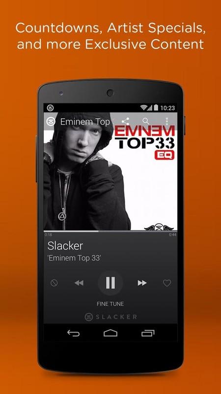 Slacker Radio (APK) - Free Download