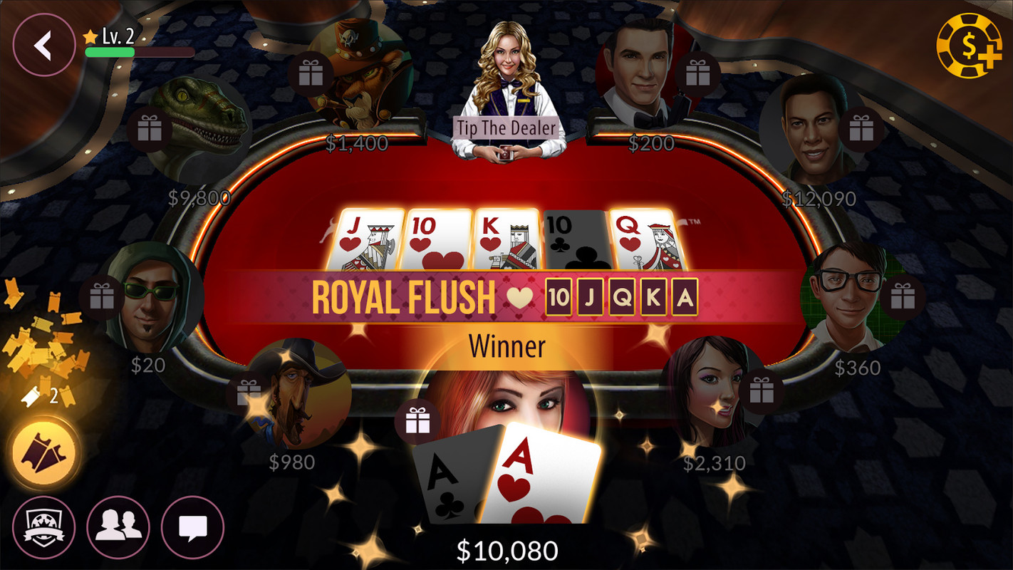 zynga poker android game free download