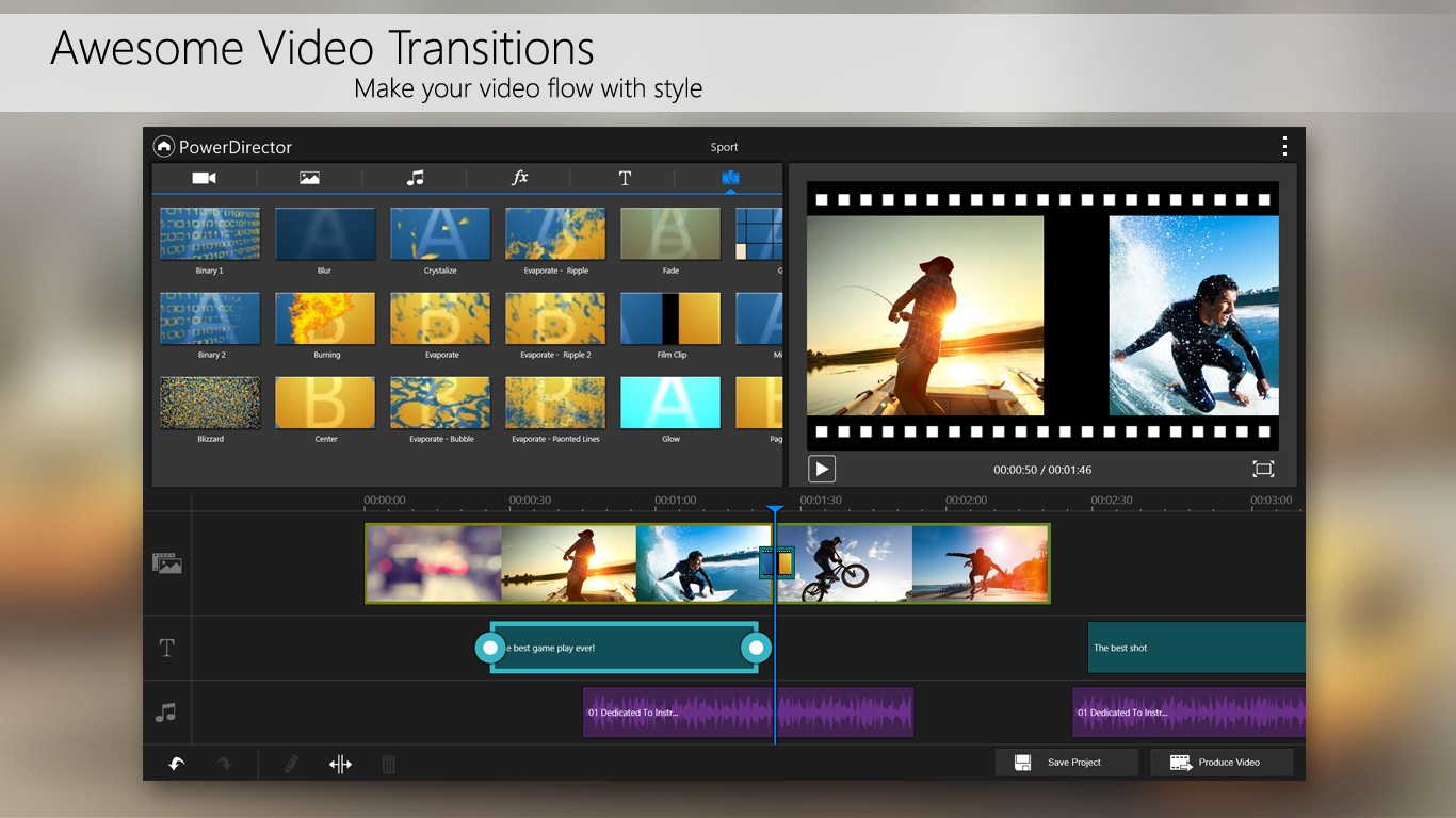 Home Free Android Apps PowerDirector – Video Editor Android App